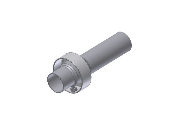 50.DK.101.0 - DB Killer Mivv  Ø30-35 - Ø54 - L.140 mm Suono aperto