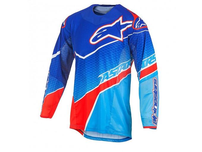 Jersey Alpinestars TECHSTAR VENOM Blue/Red