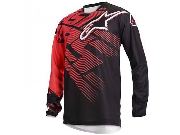 Jersey Alpinestars Racer Black/Red