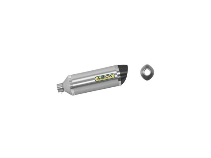 51501AK - MUFFLER ARROW ALUMINIUM CARBON CAP HONDA CBR 125 R 04-07 APPROVED