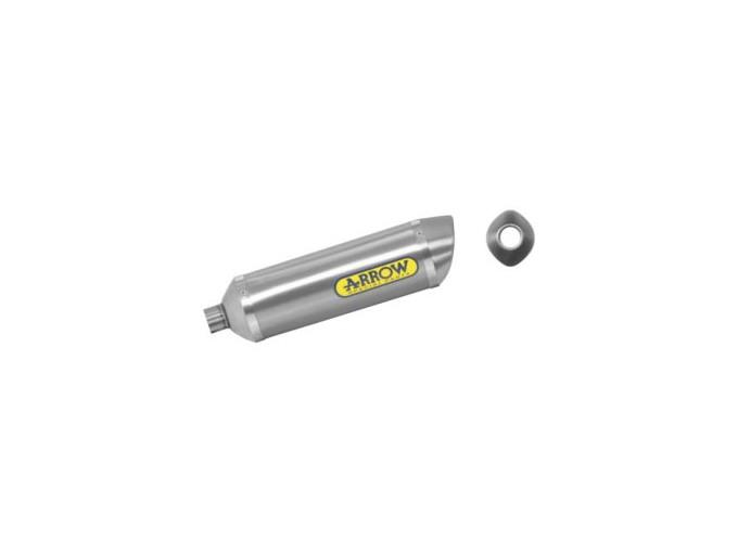 51505PO - MUFFLER ARROW TITANIUM THUNDER DERBI GPR 125 4T.4V' 10 APPROVED
