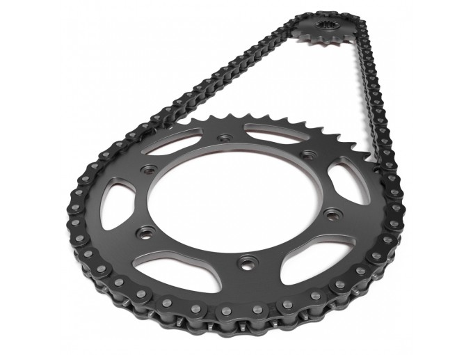 K80022 - Kit JT Sprocket Crown RK Chain Aprilia RS 250 (95-04)