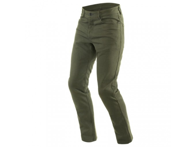Pants Dainese Classic Casual Slim Tex Olive