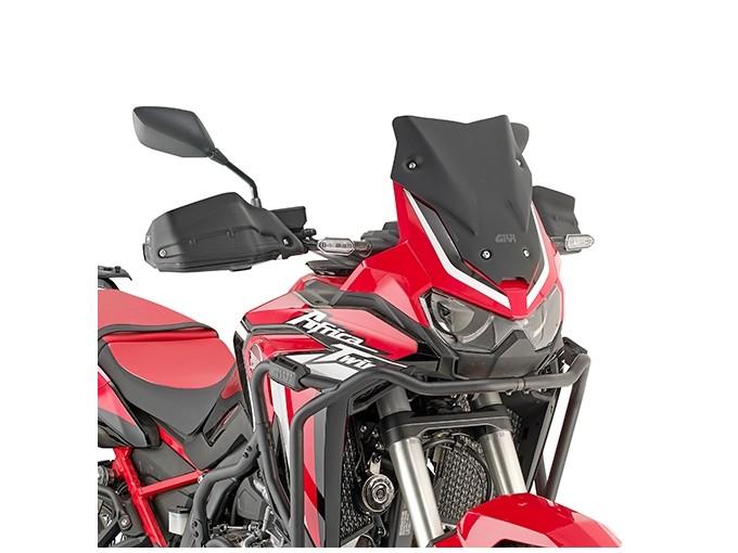 D1179BO - Givi screen low matt black 31x31 cm Honda CRF1100L Africa Twin 2020