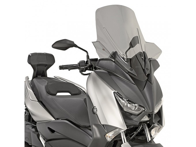 D2138S - Givi screen smoked 64,5 x 57,5 Yamaha X-Max 125 300 400 (2017-2018)