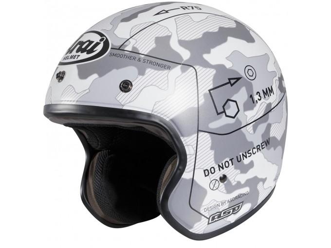 em lineamoto arai freeway 2 ii command white helmet jet. Black Bedroom Furniture Sets. Home Design Ideas