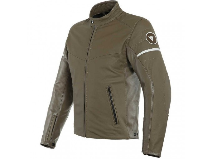 Leather Jacket Dainese Saint Louis Light Brown