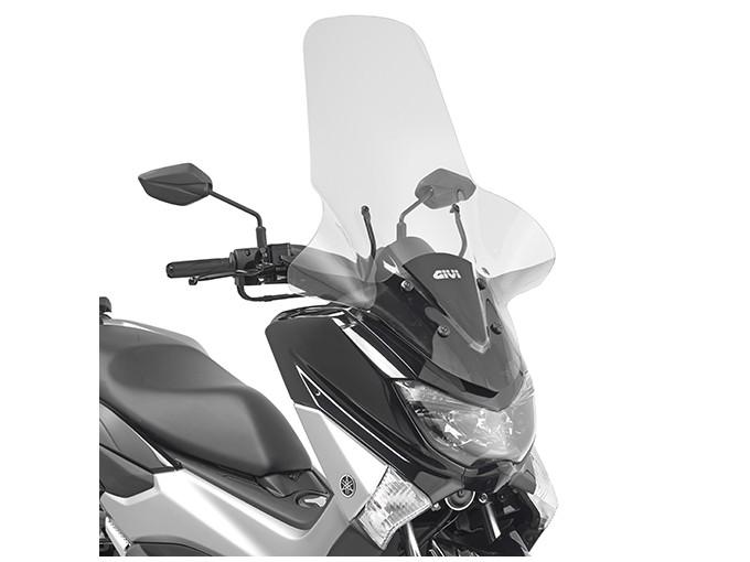 2123DT - Givi screen transparent 81,5 x 64,5 cm Yamaha N-Max 125 (15)