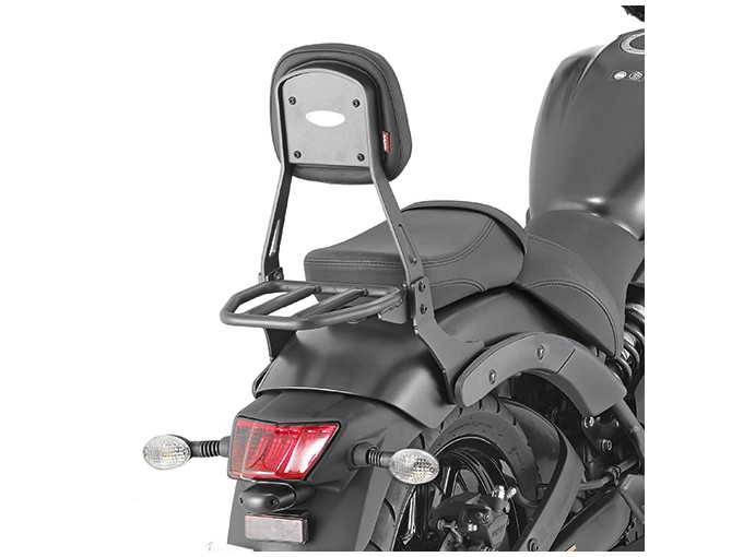 TS4115B - Givi Backrest with small luggage carrier black Kawasaki Vulcan S 650