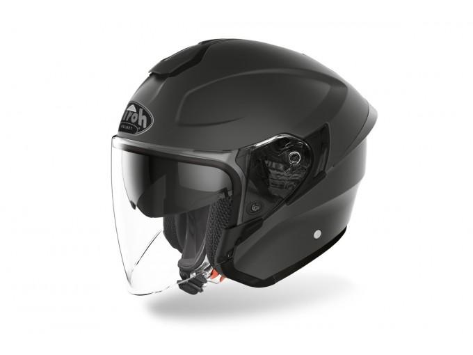 Helmet Jet Airoh H.20 Color Dark Grey Matt