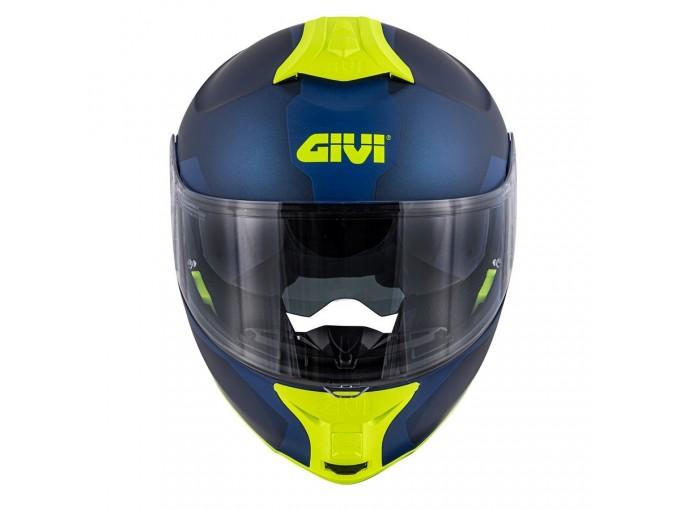 Helmet Modular Openable Givi X.21 Challenger Spirit Blue Yellow