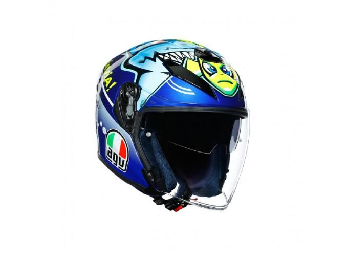 Helmet Jet Agv K-5 Rossi Misano 2015