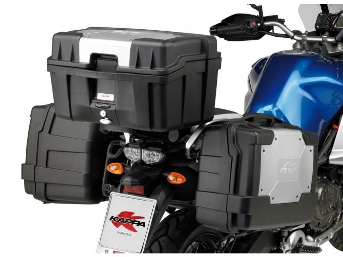 KGR33PACK2 - Kappa Set of two GARDA MONOKEY® Top-case,capacity 33 silver cover