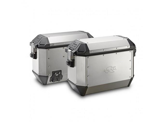 KMS36APACK2 - Kappa Pair of Side Cases MONOKEY K-MISSION aluminum 36 Lt