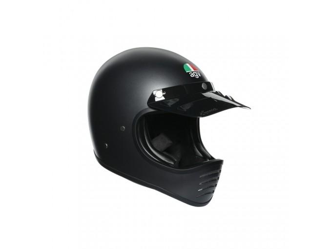 Full-face Helmet Off Road Agv X101 Matt Black