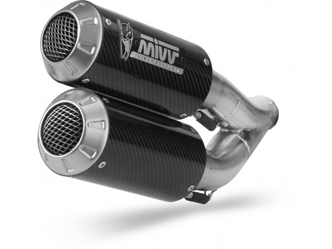 D.042.SM3C - Exhaust Mufflers Mivv M3 Carbon DUCATI MONSTER 821 / 1200