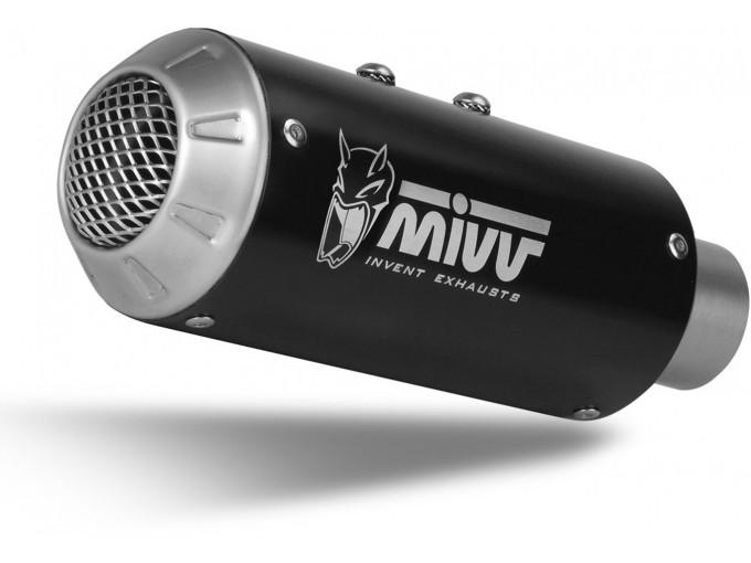 H.068.LM3B - Exhaust Muffler Mivv M3 STEEL BLACK HONDA CB 1000 R (18-)