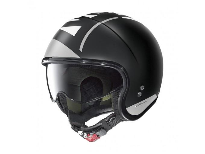 Helmet Jet Nolan N21 Avant-Garde 94 Flat Black