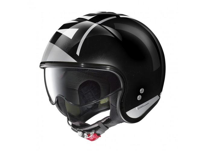 Helmet Jet Nolan N21 Avant-Garde 96 Metal Black