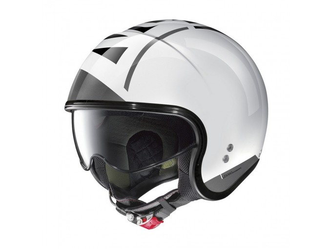 Helmet Jet Nolan N21 Avant-Garde 95 Metal White