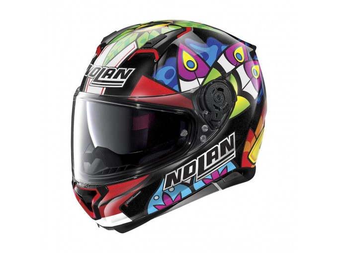 Helmet Full-Face Nolan N87 Gemini Replica N-COM 108 C. Davis Metal Black