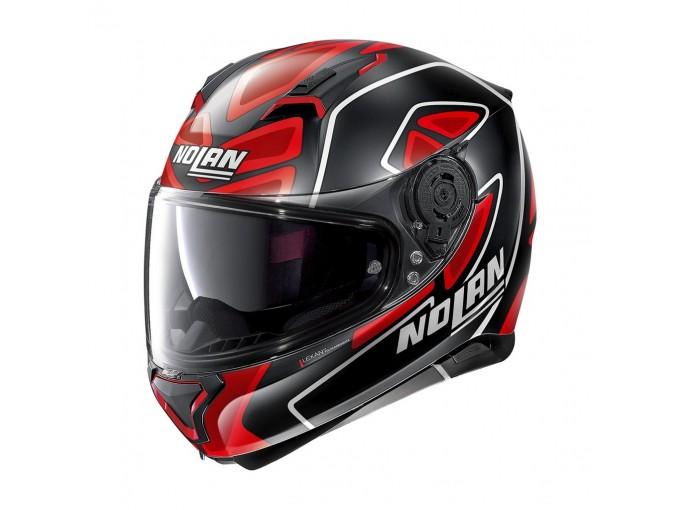 Helmet Full-Face Nolan N87 Gemini Replica N-COM 109 D. Petrucci Matt-Black