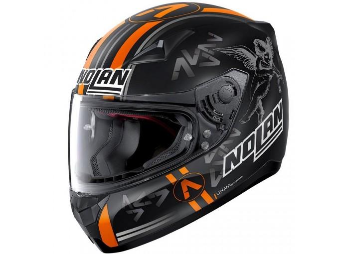 Helmet Full-Face Nolan N60.5 Gemini Replica 57 A. Canet Matt-Black