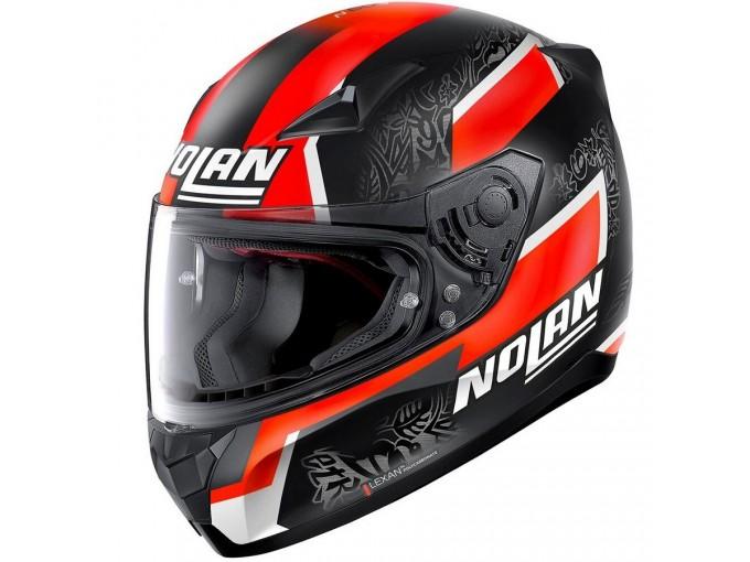 Helmet Full-Face Nolan N60.5 Gemini Replica 59 D. Petrucci Matt-Black