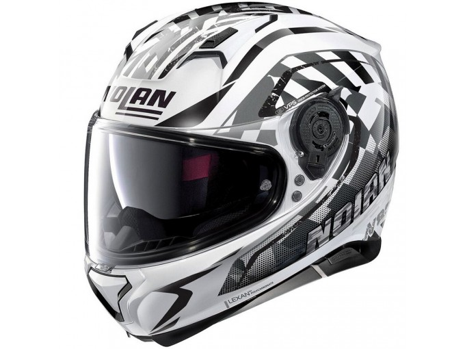 Helmet Full-Face Nolan N87 VENATOR N-COM 93 Metal White