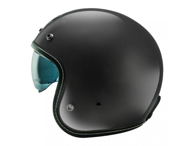 Helmet Jet Nos NS1 Glossy Black