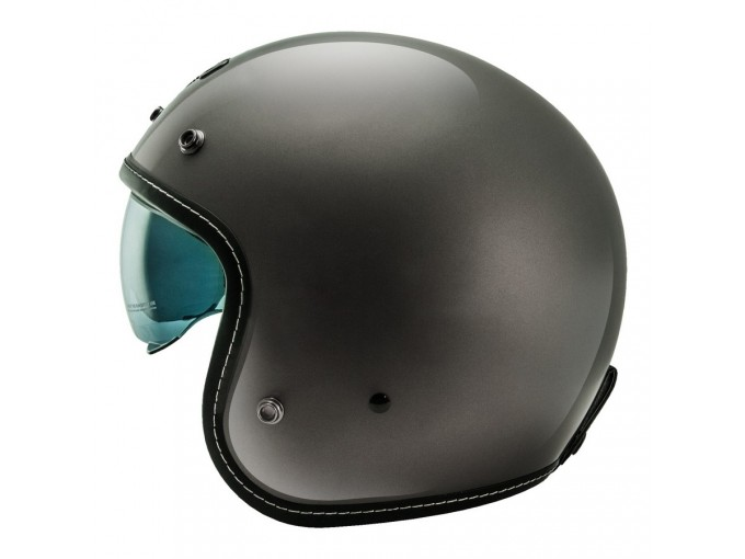 Helmet Jet Nos NS1 Glossy Titanium