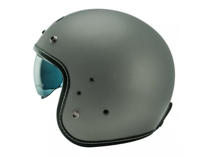 Helmet Jet Nos NS1F Matt Grey