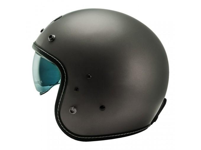 Helmet Jet Nos NS1F Matt Titanium