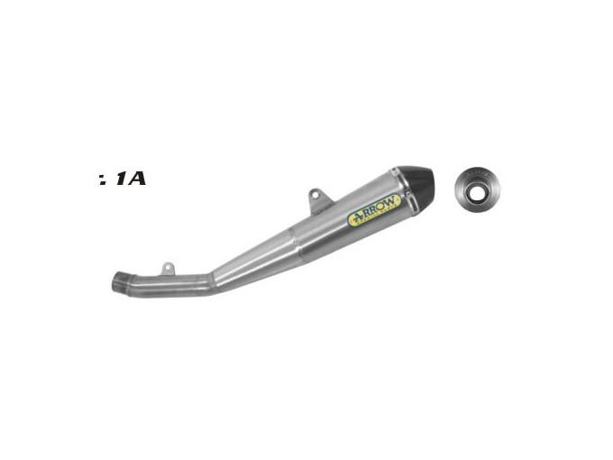 71643PRI - EXHAUST ARROW PRO RACING/FOND.CARBY KAWASAKI Z750 Z 750 07/11