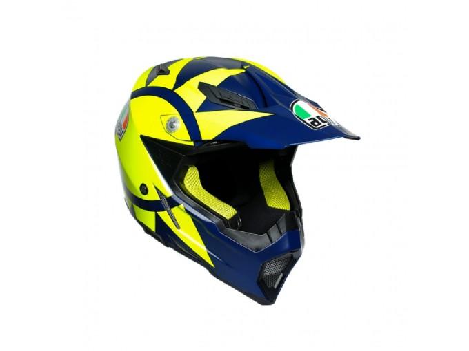 Integral Helmet Off Road Agv AX-8 Evo Soleluna 2019