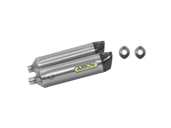 72525TK - EXHAUST ARROW THUNDER TITAN/FOND.CARBY HUSQVARNA SM 630 10 -11 DX+SX