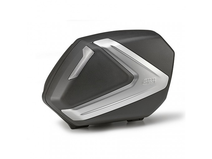 V37NT - Givi Pair Of Side-cases Monokey Black With Smoke Reflectors 37 Liters