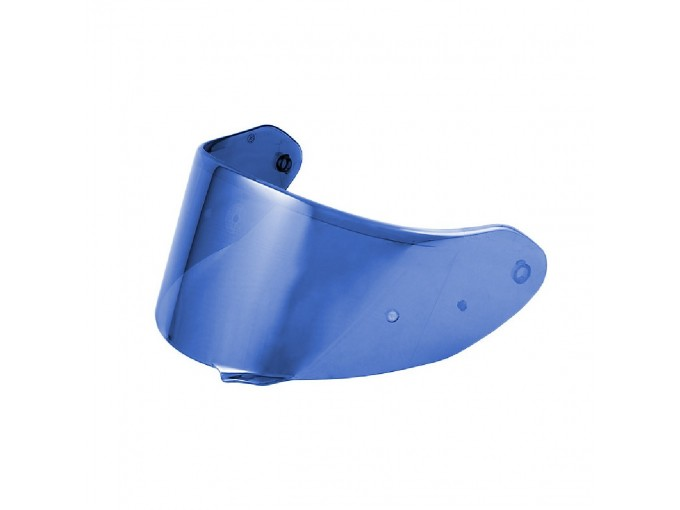 05ST7BL - Airoh Iridium Blue Visor for ST-701, Valor, ST-501, Spark