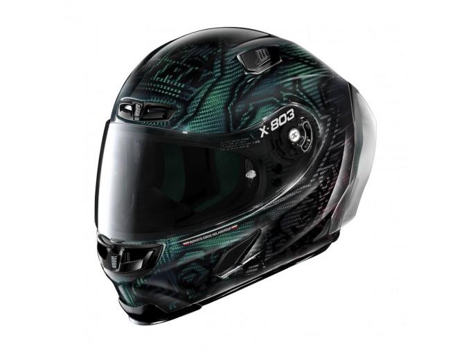Helmet Full-Face X-Lite X-803 RS Ultra Carbon REPLICA 25 C.Stoner Superhero