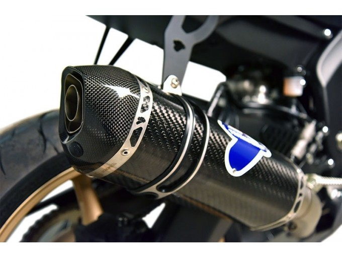 Y105094CVT - Full Exhaust Termignoni RELEVANCE Carbon YAMAHA R6 (06-19)