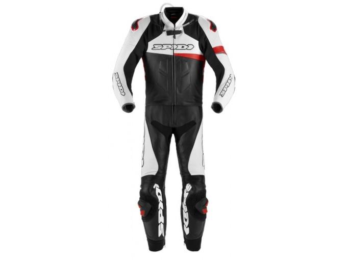 Motorbike Suit Spidi Man 2 Pieces RACE WARRIOR TOURING Black White Red
