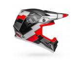 Helmet Bell Off-road Motocross Mx-9 Mips Twitch Replica Matt Black White Red