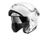 Modular Helmet Openable Shark OPENLINE PRIME White