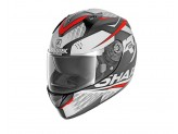 Full-Face Helmet Shark RIDILL STRATOM MAT Anthracite Red