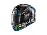 Full-Face Helmet Shark SKWAL 2 Noxxys Black Blue Green