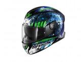 Full-Face Helmet Shark SKWAL 2 Replica Switch Riders 2** Black Blue Green