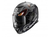 Full-Face Helmet Shark SPARTAN REPLICA LORENZO AUSTRIAN GP MAT Black Anthracite