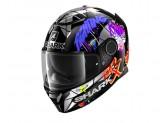Full-Face Helmet Shark SPARTAN Replica Lorenzo Catalunya Gp Black Red