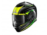 Full-Face Helmet Shark SPARTAN Kobrak Black Yellow Green