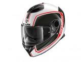 Full-Face Helmet Shark SPARTAN PRIONA White Black Red